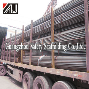 Steel Pipe with Coupler for Building Construction, Factory in Guangzhou pictures & photos