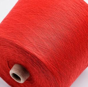 100% PP Ring Spun Polyester Yarn Cationlic Dyed pictures & photos
