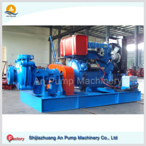 Diesel Engine Am Rubber Lining Slurry Pump pictures & photos