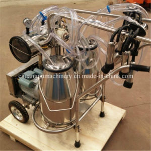 Mobile Cow Milking Machine with Price and Milking Cluster pictures & photos