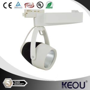 Cold White CE RoHS SAA 30W LED COB Track Light pictures & photos