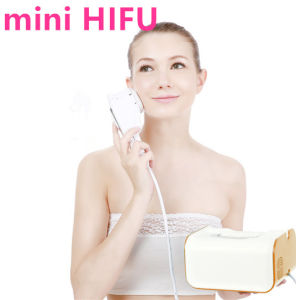 Face Lifting Wrinkle Removal Mini Hifu Beauty Equipment pictures & photos
