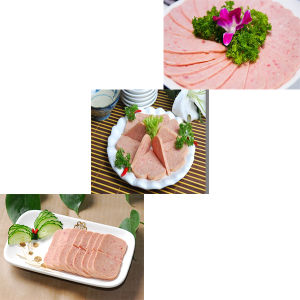 Pork Luncheon Meat, Chicken Luncheon Meat, Corned Beef with Easy Open pictures & photos