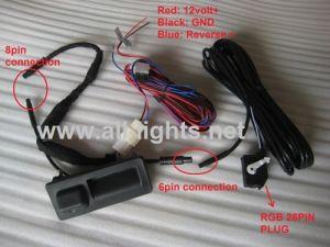 Car Volkswagen Trunk Handle Camera, Vw Rearview Camera, Backup Camera for RNS310 RNS315 RNS510 RNS810 RCD510 GOLF PASSAT JETTA MAGOTON POLO