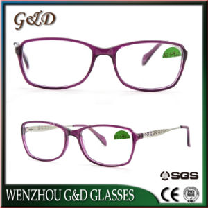 High Quality Popular Acetate Glasses Optical Frame Eyewear Eyeglass Nc3422 pictures & photos
