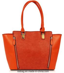 Designer Lizards Pattern PU Shopping Bag Fashion Women Bag pictures & photos