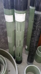 Fiberglass Pipe of Green Thread for Gas Offshore, Underground pictures & photos