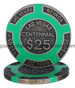 Las Vegas Centennial Metal Chip (SY-F03) pictures & photos