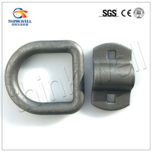Forged Steel Weldless Container Lashing D Ring pictures & photos