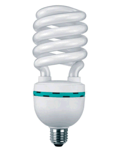 75W, 17mm Half Spiral, Compact Fluorescent Lamp
