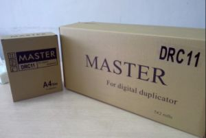 Duplo Drc11A4 Digital Duplicator Master Roll/Paper pictures & photos