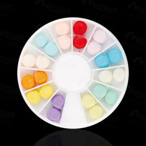 3D Cookie Fimo Nail Art Tips UV Acrylic Decoration Wheel Colourful