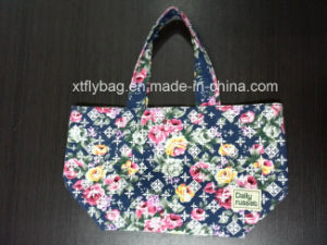 Eco-Friendly Fshion Cotton Canvas Tote Bag pictures & photos