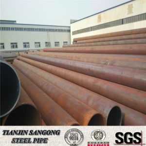 ERW 6 Inch Carbon Round Welded Black Steel Pipe pictures & photos