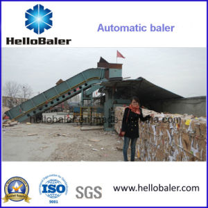 Hellobaler 5t/H Production Horizontal Baling Machine From China Hfa3-5 pictures & photos