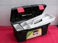 39.5*23.5*17.5cm Black Plastic Art Tool Box for Storage Hand Tools pictures & photos