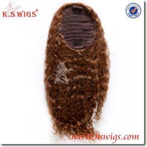 Top Grade Women Toupee Extension 100% Virgin Human Hair pictures & photos