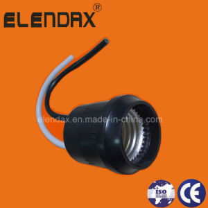 Outdoor Use E27 Lamp Base /CE Certification and Screw Style Lamp Base (AH6006) pictures & photos