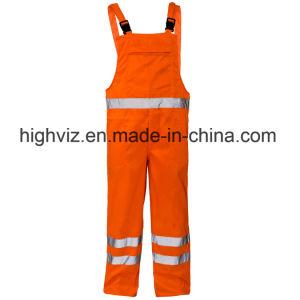 Hi Vis Polycotton Bib Trousers with En20471 (C2392) pictures & photos