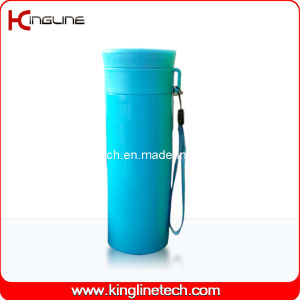 600ml Plastic Double Layer Cup Lanyard (KL-5020) pictures & photos