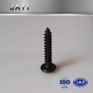 Truss Head Cross Drives, Self Tapping Screw, Black Zinc Plated pictures & photos