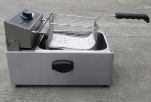 6L Single Tank Stainless Steel Electric Potato Chips Deep Fat Fryer pictures & photos