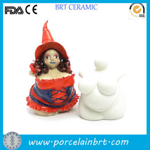 Custom Fat Woman Sculpture Ceramic Witch Statue pictures & photos