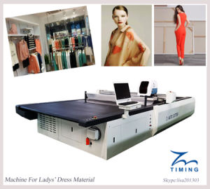 Tmcc3 Customized Auto Cutter Cloth Cutting Machine pictures & photos