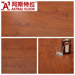 12mm Silk Surface (U Groove) Laminate Flooring (AD1123) pictures & photos