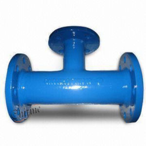 Malleable Casting Iron Pipe Fitting Tee by Sand Cast pictures & photos