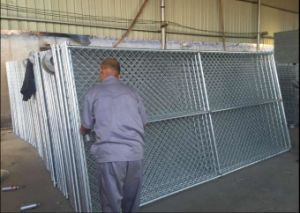 6FT X 10FT Chain Wire Mesh Temporary Fencing Panels pictures & photos