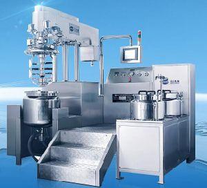 Vacuum Homogenizer Mixer Cream Emulsion Machine pictures & photos