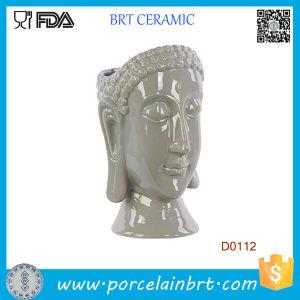 New Urban Trends Buddha Head Ceramic Vase pictures & photos