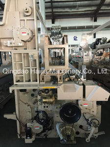 Double Beam Double Nozzle Water Jet Loom pictures & photos
