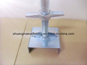 Galvanised Scaffoldinng U-Head Jack for Construction pictures & photos