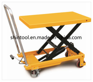 150kg Mini Scissor Lift Table SPA150 with Max. Height740mm pictures & photos