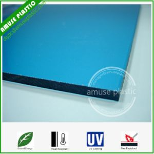 Cheap 10mm Lake Blue Building Material Polycarbonate Plastic Sheet pictures & photos