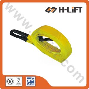 Polyester Tow Strap with Protective Sleeves pictures & photos