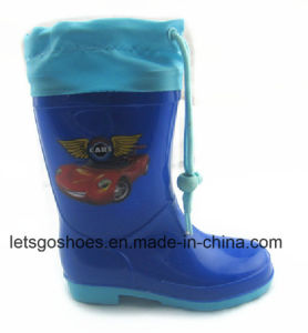 Colourful Women/Kids PVC Galoshes with Different Printing (43jb1605) pictures & photos