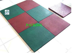 Certifictae Safety Rubber Floor for Palyground, Rubber Sheet