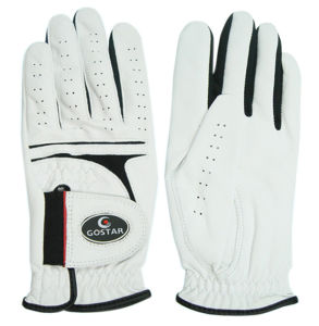 White Cabretta Golf Glove (CGL-45) pictures & photos