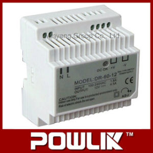 60W DIN-Rail Switching Power Supply for 5V, 12V, 15V, 24V (DR-60) pictures & photos