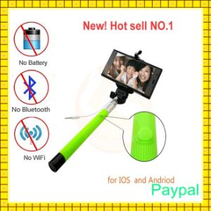 Aluminum Selfie Stick with Zoom (gc-s0011) pictures & photos