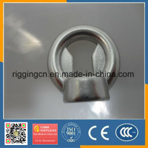 Customed Special Ss316 Casting Eye Nut with Plate pictures & photos