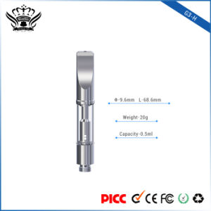 G3-H 0.5ml Dual Coil High-Temperature Resistance Glass Atomizer Tank Electronic Cigarette Vape pictures & photos