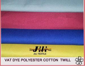 T/C Uniform Workwear Twill Fabric for Garment