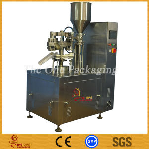 Metal Tube Fillier Sealer-Aluminium Tube Filling and Sealing Machine pictures & photos