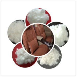 Raw White Polyester Staple Fiber pictures & photos