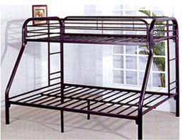 Completely Knocked Down Structure Customized Metal Bunk Beds