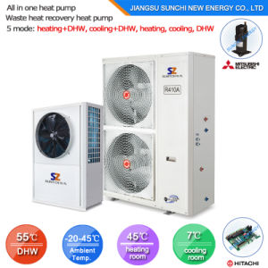 Save 70% Power 220V/ R134A 2.5kw 150L, 3.5kw 260L Outlet 60c Hot Water Air Source Heat Pump Water Heater All in One pictures & photos